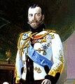 Nicholas II by E.Lipgart (1914, Russian museum) - detail.jpg