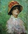 Nicolae Grigorescu - Portret de femeie cu palarie.jpg