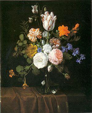 Wikipedia & Flowers in a Glass Vase - Wikipedia