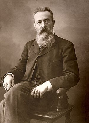 The Golden Cockerel - Nikolai Rimsky-Korsakov in 1897