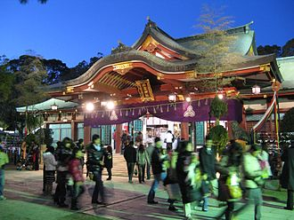 Nishinomiya - Nishinomiya Shrine