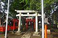 Nishitakaidoshyouan inari jinja - torii - sept 26 2015.jpg