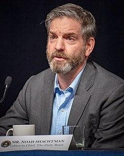 Noah Shachtman American journalist