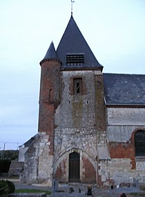 Noircourt église fortifiée (clocher façade Sud) 1.jpg