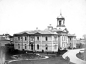 Toronto Normal School - The new Normal School building in 1856