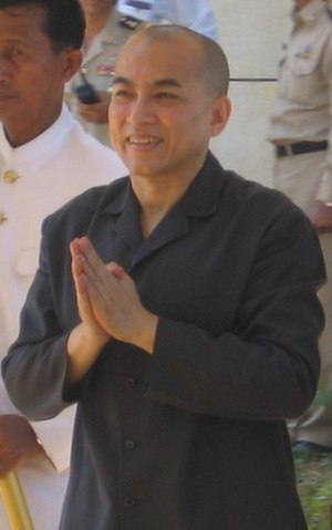 Monarchies in Asia - Image: Norodom Sihamoni (2007) (crop)