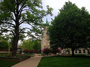 North Central College - Image: North Central College Old Main