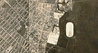 Grove Isle - Fair Isle (now Grove Isle) lying off Miami's Coconut Grove coast in 1928