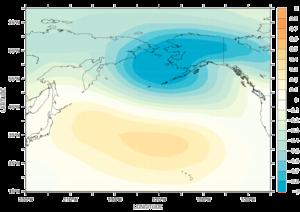 North Pacific Oscillation - The NPO pattern.