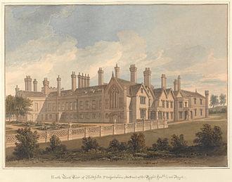 William Bagot, 1st Baron Bagot - Blithfield Hall, c.1850