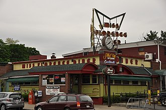 Florence, Massachusetts - The Miss Florence Diner in Florence