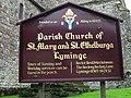 Notice board for Lyminge church - geograph.org.uk - 960647.jpg
