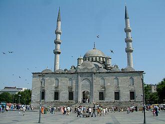 Mihrişah Kadın - The burial place of Mihrişah Kadın is located inside the New Mosque in Eminönü, Istanbul