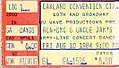 Nu Wave Productions - Uncle Jam's Army and Run D.M.C. August 10, 1984 Concert (ticket).jpg