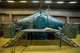 "National Centre of Scientific Research ""Demokritos"" - Image: Nuclear accelerator in NCSR Demokritos"