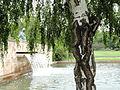 Nymphe am Wasser, Campus Westend - DSC01641.JPG
