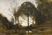 Nymphes et Faunes by Jean-Baptiste-Camille Corot - BMA.jpg