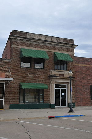 National Register of Historic Places listings in Spink County, South Dakota - Image: OLD REDFIELD CITY HALL, SPINK COUNTY, SD