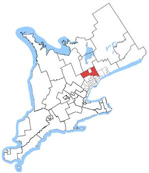 Oak Ridges—Markham (provincial electoral district) - Oak Ridges—Markham is in south-central Ontario, just north of Toronto