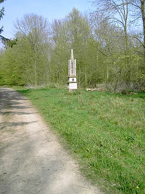 George Montagu-Dunk, 2nd Earl of Halifax - Image: Obelisk In Chicksands Wood geograph.org.uk 400454