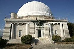 Observatoire nice - batiment - grand equatorial.JPG