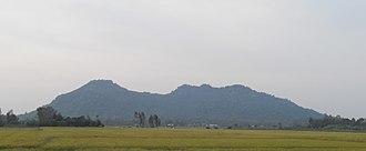 Funan - View of Mount Ba The, Oc Eo, An Giang Province, Vietnam