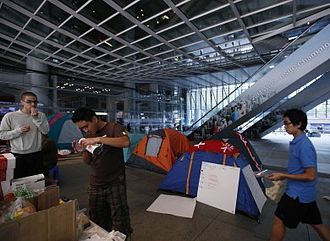 Occupy Central (2011–12) - Occupants tried to create an 'equal' community.