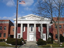 Ocean Countys domstolshus i Toms River.
