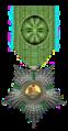 Officier in de Orde van de Leeuw en de Zon Iran rond 1900 Civiele Divisie.png