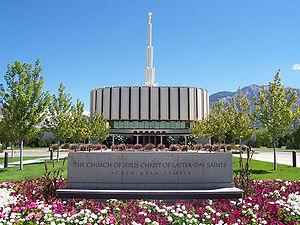 Ogden Utah Temple - The temple as originally built