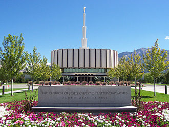Ogden Utah Temple - The temple as originally built