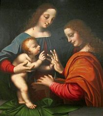 The Mystical Marriage of Saint Catherine