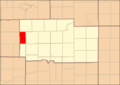Ogle County Illinois Map Highlighting Brookville Township.png