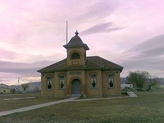 Fairfield, Utah - Old Fairfield Schoolhouse