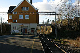 Image illustrative de l'article Gare de Høvik