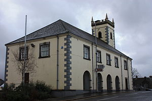 Castlewellan - Old Market House, December 2009