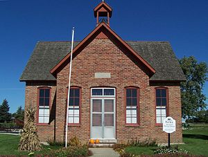 Old schoolhouse.