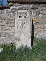 Old signal stone. - Konkoly-Thege street, Csillebérc.JPG