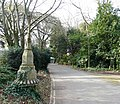 Oldway mansion, Paignton, ancient lamp post - geograph.org.uk - 692930.jpg