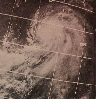 1970 Pacific typhoon season - Image: Olga Jul 119700644z ITOS1