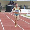 Olga Safronova Women 200m Heats In Progress (cropped).jpg