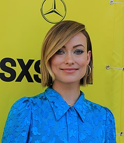 Olivia Wilde at the Red Carpet Premiere of A Vigilante during SXSW 2018 (40704996872) (cropped).jpg