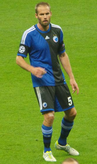Olof Mellberg - Mellberg with Copenhagen in 2013