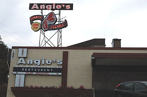 South 10th Street - Angie's Restaurant