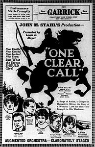One Clear Call (1922) - 2.jpg
