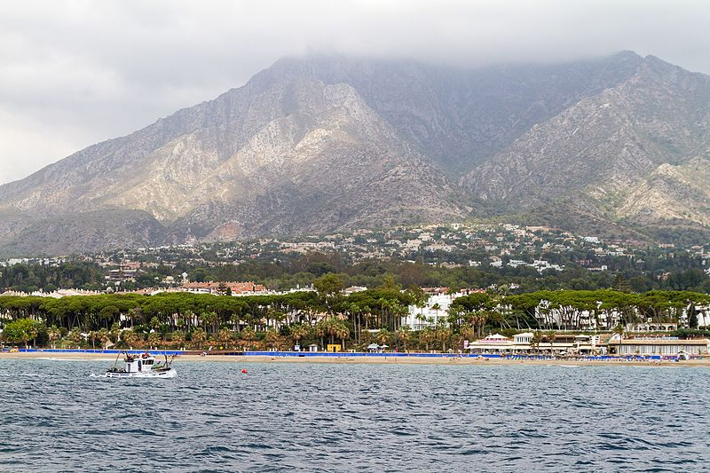 One of the many beaches in Marbella, Spain (29569433135).jpg