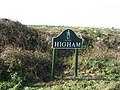 One of the new Higham village signs - geograph.org.uk - 358900.jpg