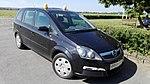 Opel Zafira 1.8 Aeroklubu Gliwickiego, Gliwice 2017.06.25.jpg
