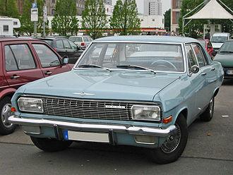 Opel Admiral - Admiral A