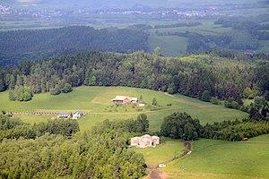 Czechoslovak border fortifications - N-D-S 73 Jeřáb, part of fortress Dobrošov near Náchod